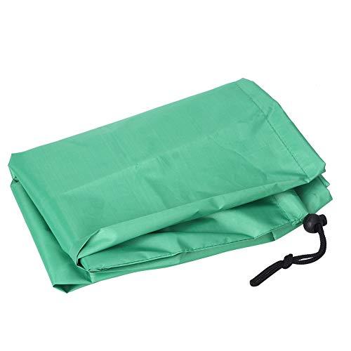 Fácil de llevar durable 210D Oxford tela plegable cubierta de mesa para exteriores (verde)