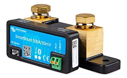 Victron Energy SmartShunt 500A Batteriewächter ohne Display Ve.Direct Bluetooth SHU050150050