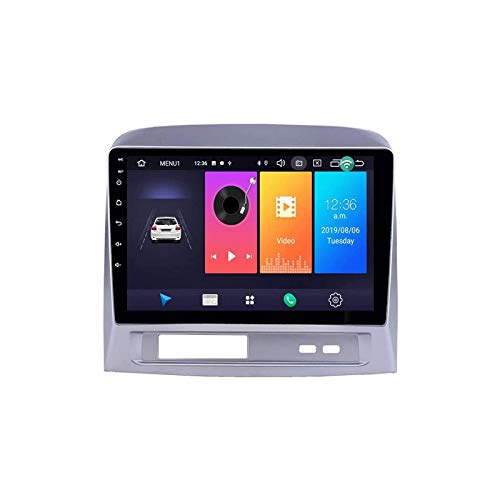 Coche Estéreo Audio Multimedia Player SAT NAV HD Pantalla táctil Support Bluetooth GPS WiFi FM Radio DUAL USB Port Mirror Link para TOYOTA VIOS 2003~2007,4 core 4g+wifi: 1+32gb