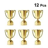 Toyvian 12pcs Cup Trophy Plastic Trofei per Bambini Competizioni Premi Feste Bomboniere Pu...