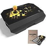 アケコン Qanba Drone コントローラー【3ヶ月保証 日本語説明書付き】PS3 PS4 ドローン アーケード 押しボタン・レバー搭載 クァンバ お手入れクロスセット