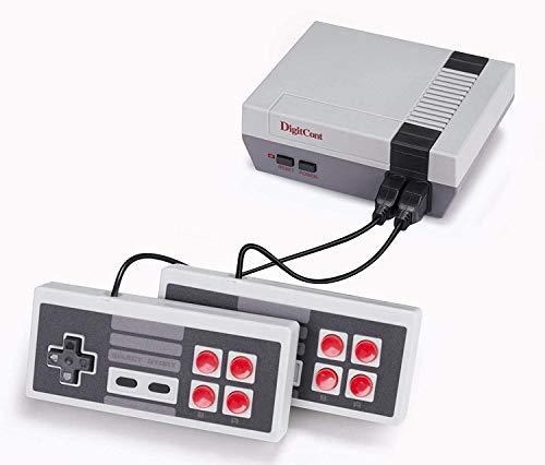 DigitCont Plug & Play Classic ini 2ND Gen Consola incorporada, con 621 Juegos Retro clásicos para 2 Jugadores, Modo Consola de TV, Salida de Memoria de la Infancia