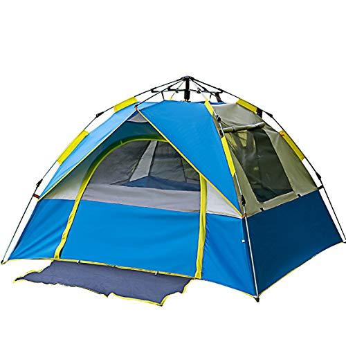CCF-OZ Outdoor Tent 3-4 Personen Pop-up Tent Automatische Snelheid Open Strand Tent Camping Nep Dubbele Zonnescherm Tent Outdoor Camping Apparatuur