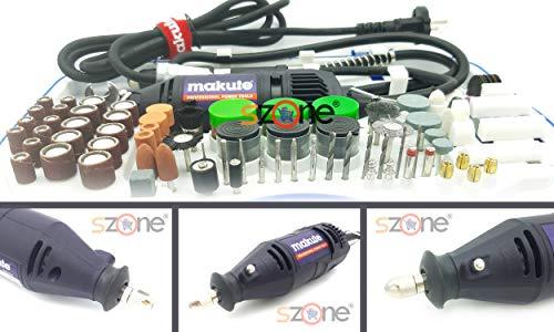 SZONE® Mini Die Grinder 350W Tool Kit with 196 pcs accessories Electric Rotary Die Grinder Tool kit With Flexible Shaft Rotary Tool