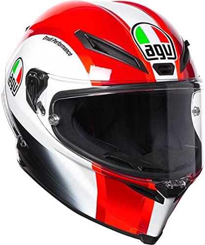AGV Motorradhelm Corsa R E2205 Replica PLK, Sic58 Rot, Größe XXL