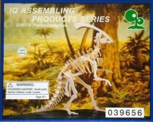 IQ Assembling Products Series Wooden Model (Parasurolophus) by IQ Assembling Products