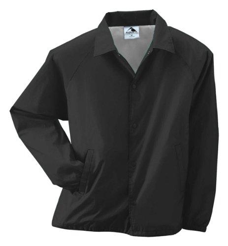 Style 3100 Nylon Coach's Jacket (Lined) - Adult (large, black)