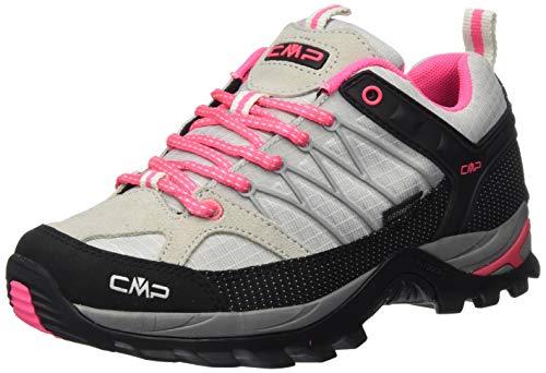 CMP – F.lli Campagnolo Damen Rigel Low Wmn Shoe Wp Trekking- & Wanderhalbschuhe, Grau (Glacier-Gloss 24TE), 41 EU