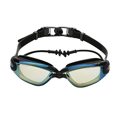 RENS Zwembril Mannen Vrouwen Zwembad Oorsteker Professionele Uv Silicone Waterdichte Arena Zwembril Volwassen Duikbril