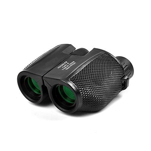 Fernglas 10x25 HD Kompakte Ferngläser, iMeshbean Fernglas für Erwachsene Mini Binocular mit Nachtsicht Wasserdicht BAK4-Prisma Stoßfestes Fernglas Klein für Vogelbeobachtung, Jagd und Konzerte
