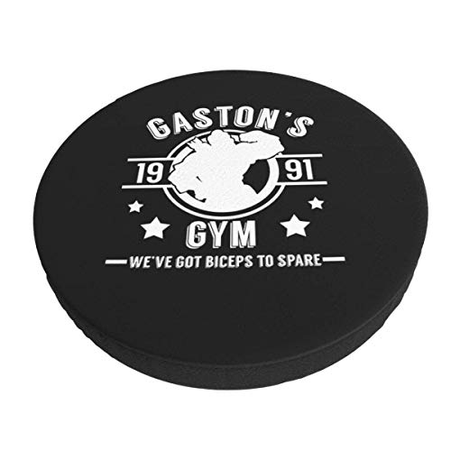 Gaston 'S Gym, extraíble, Lavable, Redondo, para Bar, Silla, cojín, elástico, Taburete, cojín, Funda, 13 Pulgadas