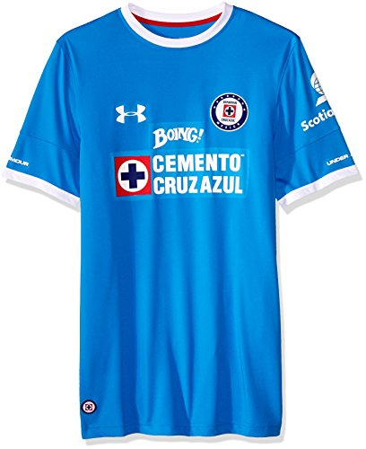 Under Armour Cruz Azul 16/17 Home Replica Jersey MD Blue Taro