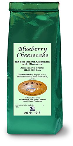 Blueberry Cheesecake Grüntee