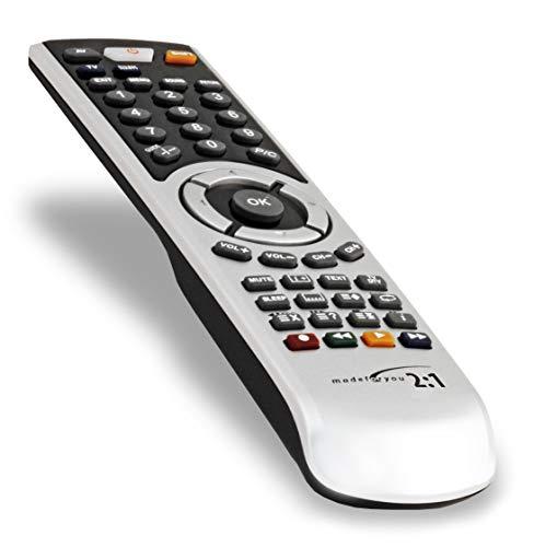 G.B.S. Elettronica 2082 telecomando IR Wireless DVD/Blu-ray,TV,VCR Pulsanti - Telecomandi (DVD/Blu-ray,TV,VCR, IR Wireless, Pulsanti, Nero, Argento)