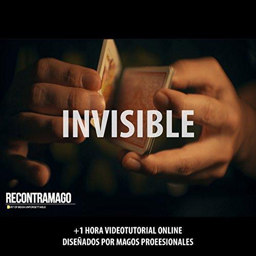 Carte da Magia Invisible - Giochi di Magia Prestigio + Accesso Sito Web Segreto con Video Istruzioni realizzate da Maghi Professionisti - Colezzione Migliori Mazzi di Carte del Mondo - Trucchi magia