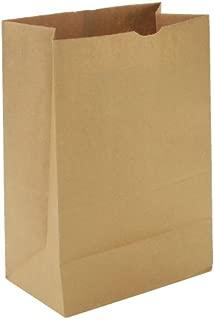 General SK1657 1/6 BBL Paper Grocery Bag, 57lb Kraft, Standard 12 x 7 x 17, (Case of 500 Bags)
