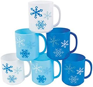 Winter Wonderland Snowflake Mugs (1 dz)