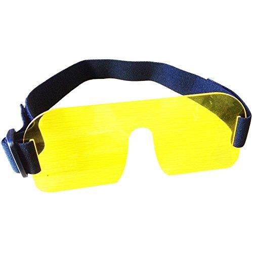 Merlin - Filtro de fluorescencia amarillo solar, máscara de fluorodivación y correa amarilla (barrera) para buceo con filtro dicroico y máscara de buceo para luces de vídeo subacuáticas