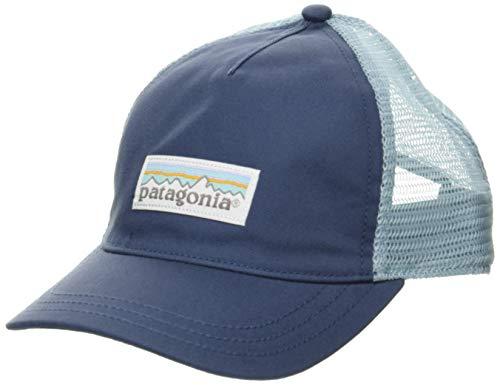 Patagonia Damen Cap W's Pastel P-6 Label Layback Trucker Hat Einheitsgröße Blau (Dolomite Blue)