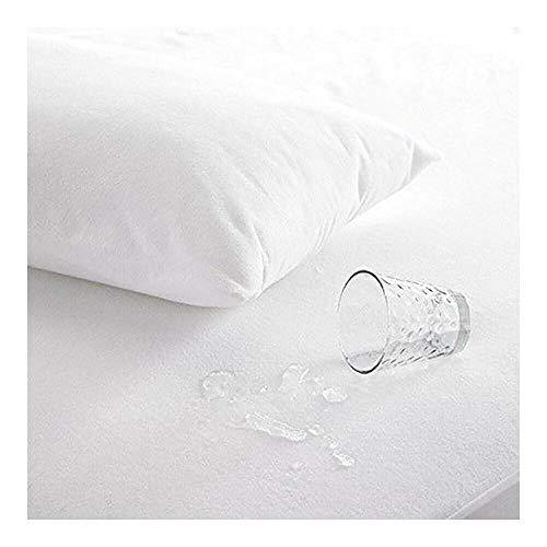 Snugglemore Organic Bamboo Terry Waterproof Mattress Protector King Size Bed