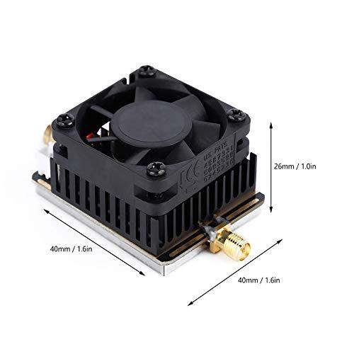 Gogh FPV Amplificador emisor de señal, Amplificador de señal de transmisión de Audio y vídeo, 5.8GHz 3W / 4.5W, Apto para Cuatro Ejes, de Ejes múltiples, Coches de Control Remoto.