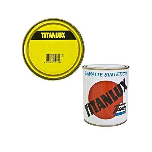 Titanlux M41870 - Esmalte sintetico titanlux 125 ml amarillo real