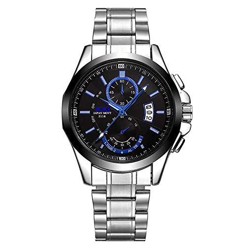 Uhren Fashion Steel Strip Business Watch Herren Sportuhren Herren S Clock Full Steel Uhren Schwarz China