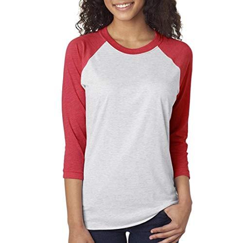 Tops Blusa De Manga Larga para Mujer Letra Basic Impresa Tops I Like Warm Hugs Camiseta De Amante De Amigos T-Shirt Ropa (Color : H, Size : M)