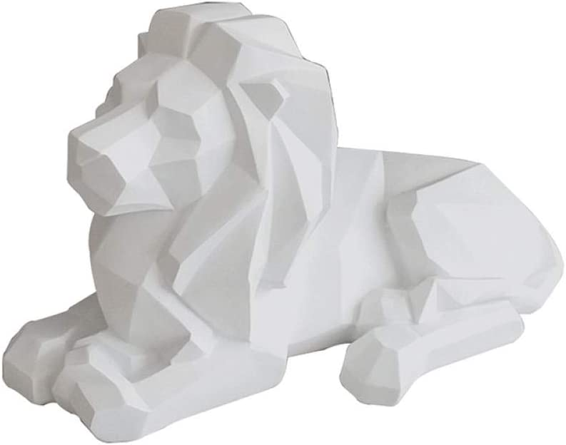 Figurine Cheap bargain Statue Modern Abstract Mesa Mall Resin Lion Style