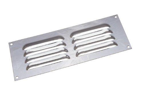 1er Pack chrome brillant Louvre Grille ventilation évent couverture 9 x 3 pouces