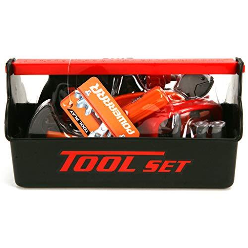 Otto Simon 416-8304 Tool Play Power Kinder-Werkzeugkasten mit Bohrmaschine, 14 Teile