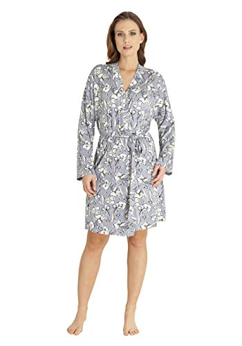 hajo Polo & Sportswear Damen Leichter Kimono mit Blumenmuster