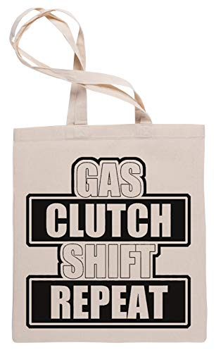 Wigoro Gas Clutch Shift Repeat Einkaufstasche Tote Beige Shopping Bag