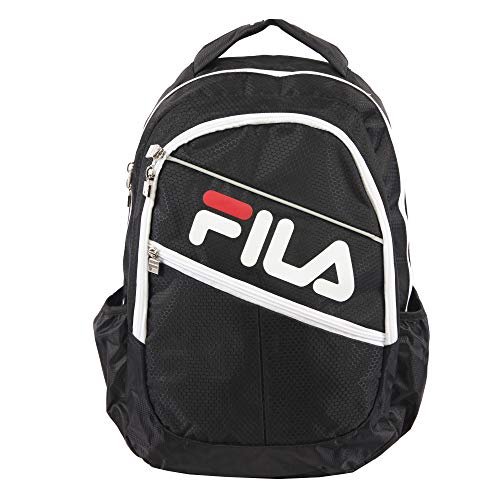 Fila August Laptop/Tablet Backpack, Black, One Size