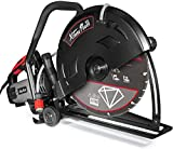 XtremepowerUS 3200W 16' in Electric Cutter Circular Saw Wet/Dry Concrete Saw Cutter Guide Roller