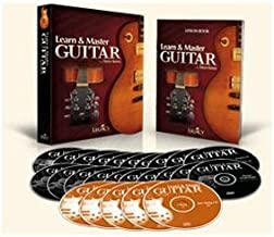Learn and Master Guitar, Expanded Edition, Steve Krenz, 20 DVDs, 5 Jam-Along CDs & Lecture Book, from Legacy Learning