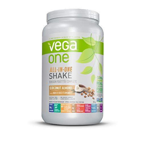 Vega One All-in-One Plant Based Protein Powder Coconut Almond 834 g - Plant Based Vegan Protein, Non Dairy, Gluten Free, Non GMO