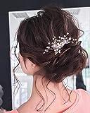 Unicra - Pettine per capelli da sposa, con perle...