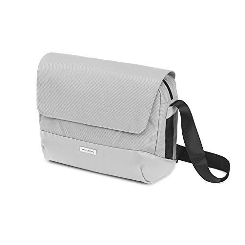 Moleskine Metro Slim Messenger Bag Gris Ceniza