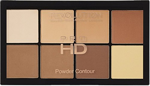 MAKEUP REVOLUTION Ultra Pro HD Powder Contour Palette Light Medium, 20 g