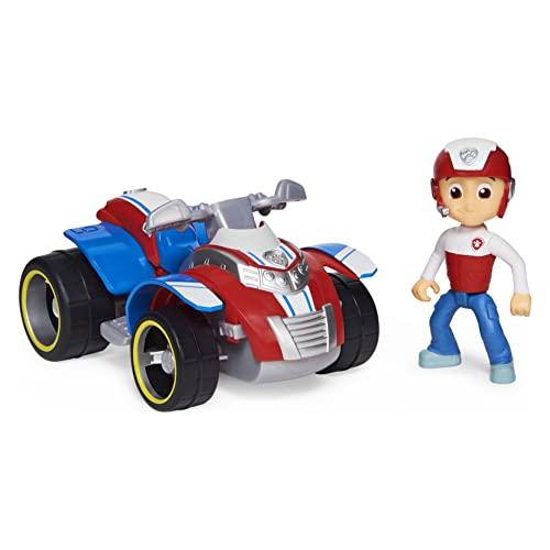 SpinMaster Vehículo Paw Patrol y Figura de Ryder