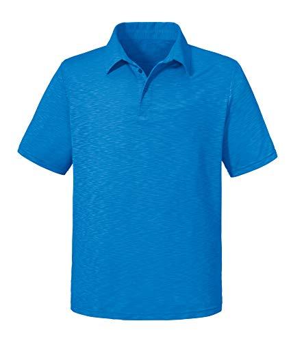 Schöffel Polo Shirt Izmir1, bekväm och lätt pikétröja i 2-vägs stretch, andningsbar funktionell tröja med solskyddsfaktor.