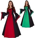 MAYLYNN Mittelalter Kleid Gewand Keyla rot - LARP, Größe:XL
