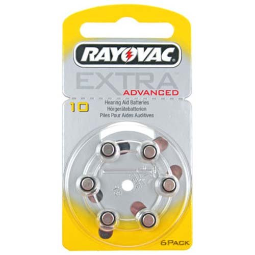 Rayovac Acoustic Special HA10, PR70, 4610 Hörgeräte Batterie