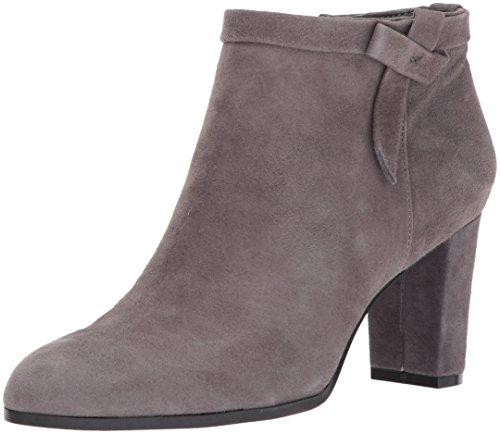 Bandolino Women's Belluna Ankle Boot, Steel, 9.5 M US
