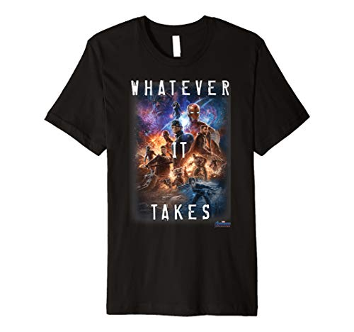 Marvel Avengers Endgame Movie Poster Whatever It Takes Premium T-Shirt