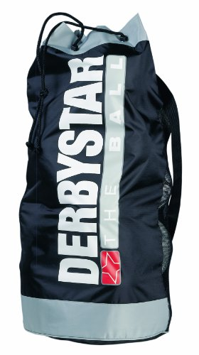 Derbystar 4526000000 - Bolsa/Red para balones de fútbol, Color Negro/Gris, Talla Talla única