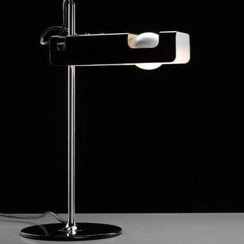 Oluce Spider 291 - Lámpara de mesa, color negro