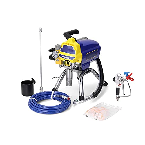 Spray Paint Spray Gun Airbrush, High-Pressure Airless Spray Gun, Electric Paint Sprayer Painting Tool Auto Paint Spray Gun (Color : Type 2 TA-4900)