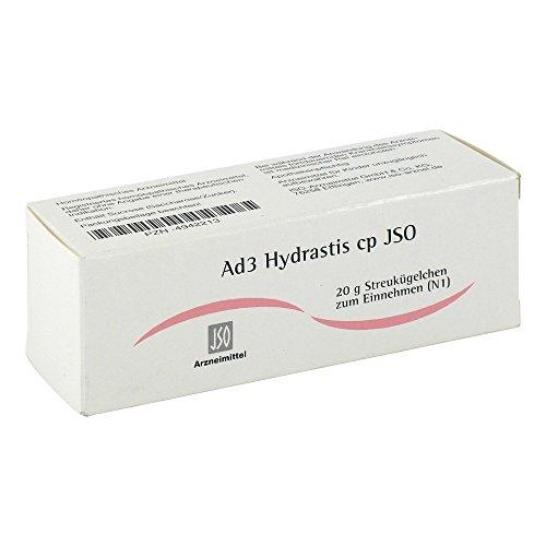 JSO Ad 3 Hydrastis cp Globuli 20 g